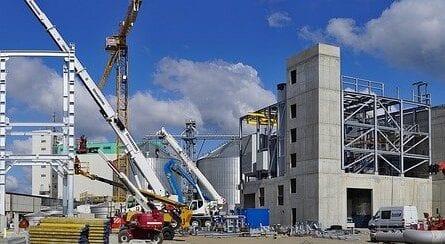 Arbeitsbühnenschein für Baustellen