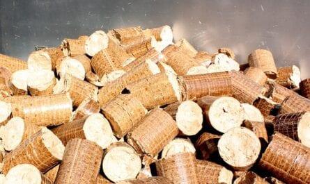 Pellets für eine Holzpelletheizung