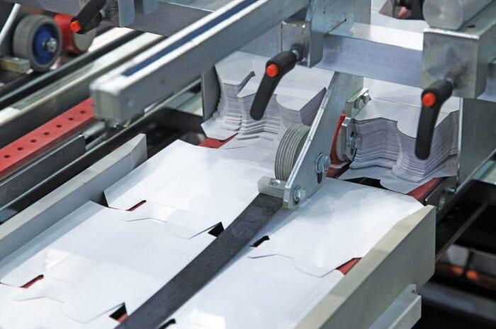Verpackungen industrielle Herstellung